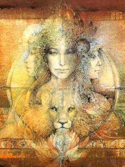 Godess in Leo