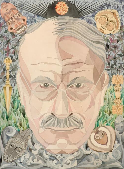 C_G Jung Portrait by Fredrik Söblerberg