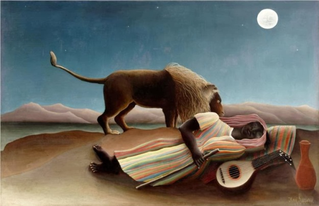 Henri Rousseau the-sleeping-gypsy-1897