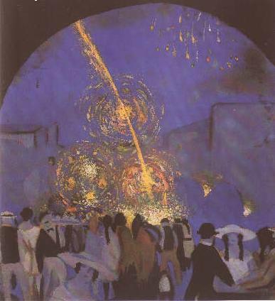 Dali Fiesta in Figueres 1914