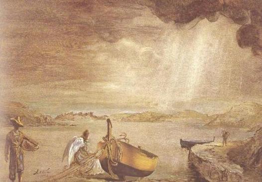 Dali Angel of Port Lligat